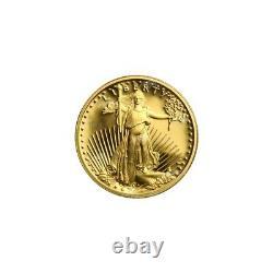 1/10 oz Random Year American Eagle Proof Gold Coin
