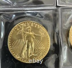 1 oz American Gold Eagle $50 Coin BU- 2001 US Mint. Uncirculated, untouched