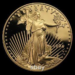 1 oz Proof Gold American Eagle (Random, Capsule Only) SKU #32756