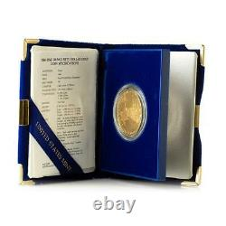 1986 $50 Gold Eagle PROOF Strike First Year of Issue in OGP Gold Coin #A310
