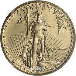 1986 American Gold Eagle (1 oz) $50 NGC MS69