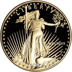1989-W American Gold Eagle Proof 1 oz $50 in OGP
