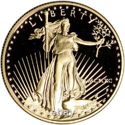 1990-P American Gold Eagle Proof 1/2 oz $25 Coin in Capsule