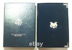 1992 American Eagle Gold Proof 4 Coin Set AGE in Box with COA