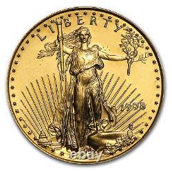 1998 1/4 oz Gold American Eagle BU SKU #7435