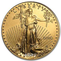 2000 1 oz Gold American Eagle BU SKU #7442