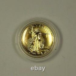 2009 American Gold Eagle AGE $20 Near Perfect Ultra High Relief (Proof-like)