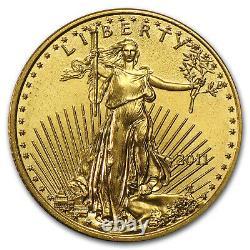 2011 1/10 oz Gold American Eagle BU SKU #59149