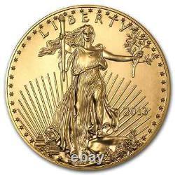 2013 1 oz Gold American Eagle BU SKU #71271