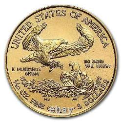 2019 1/10 oz Gold American Eagle BU SKU#171386