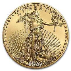 2019 1/4 oz Gold American Eagle BU SKU#171384