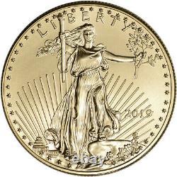 2019 American Gold Eagle 1 oz $50 BU