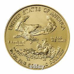 2020 1/4 oz Gold American Eagle $10 GEM BU Brilliant Uncirculated