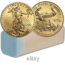 2020 1/4 oz Gold American Eagle Coin Brilliant Uncirculated