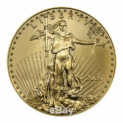 2020 1 oz Gold American Eagle $50 GEM BU SKU59577
