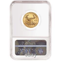 2020 $10 American Gold Eagle 1/4 oz. NGC MS70 Trump Label