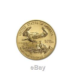 2020 Gold 1/4 oz Gold American Eagle $10 US Mint Gold Eagle Coin