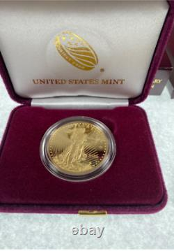 2020 V75 End World War II 75th Anniversary American Eagle Gold Proof Coin WWII