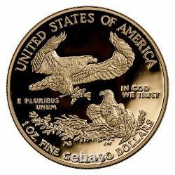 2020 W 1 oz Gold American Eagle Proof $50 Coin GEM Proof OGP SKU60843