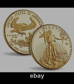 2020-W American Gold Eagle V75 End of WW2 75th Anniversary Coin (IN HAND)