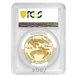 2020-W V75 1 oz Proof Gold American Eagle End of WWII 75th Anniv PCGS PF 70 FDOI