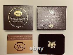 2020-W V75 Gold WWII Privy PCGS PR69DCAM First Strike Coin 20XE Eagle 1 of 1945