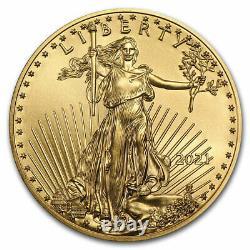 2021 1/4 oz American Gold Eagle BU SKU#218727