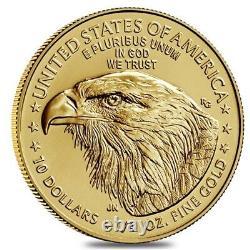 2021 1/4 oz Gold American Eagle Type 2 PCGS MS 70 FDOI