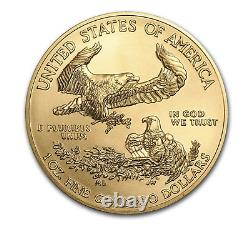 2021 1 oz American Gold Eagle Type 1 $50 US Gold Coin BU