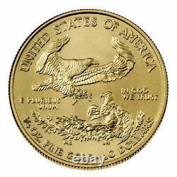 2021 $10 American Gold Eagle 1/4 oz Brilliant Uncirculated
