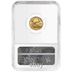 2021 $5 Type 1 American Gold Eagle 1/10 oz. NGC MS70 Trump Label