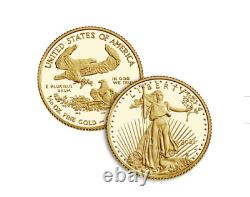 2021 American Eagle One-Tenth Ounce Gold Two-Coin Set Designer Edition IN STOCK