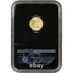 2021 American Gold Eagle 1/10 oz $5 NGC MS70 First Day of Issue 1st Label Black
