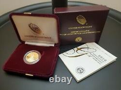 American Eagle 2020 One-Quarter Ounce Gold Proof Coin Low Mintage 4,235