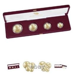 American Eagle 2021 Gold Proof Four-Coin Set 4 coin 2021. Item number 21EF