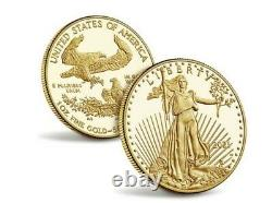American Eagle 2021 One Ounce Gold Proof Coin. In hand! Sealed