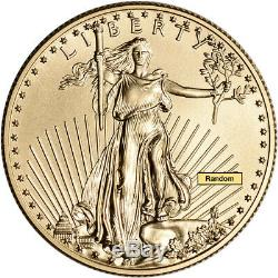 American Gold Eagle (1/2 oz) $25 Random Date