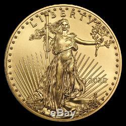 Ch/gem Bu 2020 1 Oz. $50 American Eagle Gold United States Coin 1 Ounce