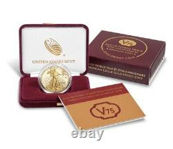 End Of World War II 75th Anniversary American Eagle Gold Proof Coin