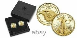 PRESALE 2021 American Eagle One-Tenth Ounce Gold Two-Coin Set Designer Edition