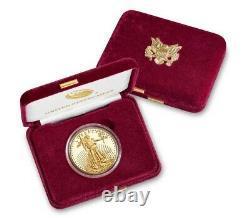 PRESALE Last Design American Eagle 2021 One Ounce Gold Proof Coin 21EB