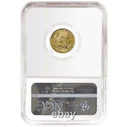 Presale 2021 $5 American Gold Eagle 1/10 oz. NGC MS70 ALS ER Label
