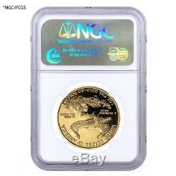 1 Oz 50 $ Preuve D'or American Eagle Ngc / Pcgs Pf 69 (random Année)