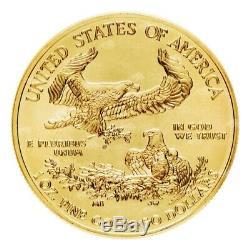 1 Oz Au Hasard Année American Eagle Gold Coin