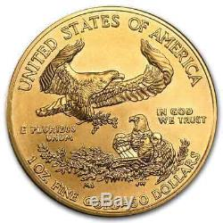 1 Oz D'or American Eagle Bu (random Année) Sku # 1
