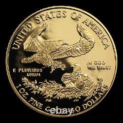 1 Oz D'or American Eagle Proof (random, Capsule Uniquement) Sku # 32756
