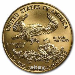 1 Oz Gold American Eagle Ms-69 Pcgs (random Year) Sku #83483