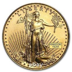 14kt Or Massif Pour 1oz Or Eagle Lunette À Corde Solide 4,9 Grams 318,88 $