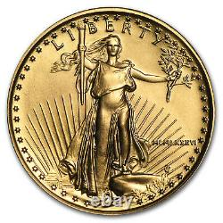 1986 1/4 Oz D'or American Eagle Bu (mcmlxxxvi) Sku # 4705
