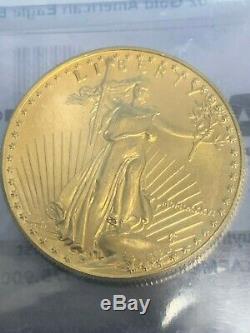 1986 $ 50 Américain Gold Eagle 1 Oz MCMLXXXVI Brillant Uncirculated Coin